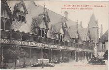 CARTE POSTALE ANCIENNE HOSPICES DE BEAUNE-HOTEL-DIEU- Façade Cour d'HONNEUR