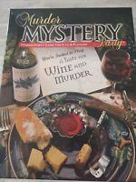 Murder Mystery Dinner Party Game - A Taste For Wine & Murder BNIB 2007