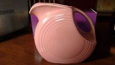 Vintage Rose Pink Fiesta Pitcher-Retired Color