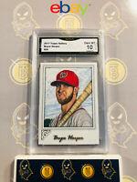 2017 Topps Gallery Bryce Harper #25 - 10 GEM MINT GMA Graded Baseball Card