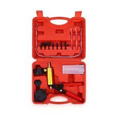 Vacuum Pistol Pump Tester Brake Fluid Bleeder 2 in 1 Tool Kit for Vehicle Home