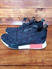 Adidas Mens NMD TS1 PK GTX Primeknit Gore Tex Black Red Sneaker BD8078 Size 10