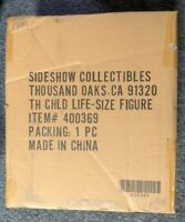 Star Wars The Mandalorian Sideshow THE CHILD Baby Yoda Grogu (IN HAND) 1:1 Scale