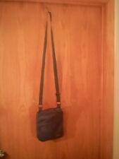 "Eddie Bower unisex teal shoulder bag, small, polyester, 9.5"" x 8""x 1""x 26"""