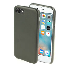 Funda Carcasa Piel PU + TPU para IPHONE 7 PLUS / IPHONE 8 PLUS en Negro i17