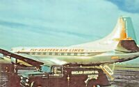 EASTERN AIRLINES MARTIN 4-0-4  Airplane Postcard