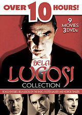 BELA LUGOSI COLLECTION 3-DVD Set 2007 HORROR CLASSICS! 10+ Hours 9 Movies!