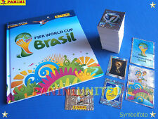 Panini★WM 2014 WC 14 World Cup★complete set/Komplettsatz + HARDCOVER Leeralbum