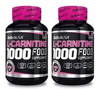 0f476eb41ae BIOTECH USA L-CARNITINE 1000mg   60tabs. fat burner weight loss slimming !