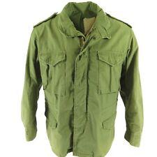 ORIGINAL VINTAGE ARMY ISSUE M-65 OLIVE DRAB FIELD COAT Jacket VIETNAM OG-107