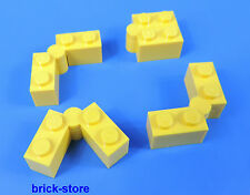 LEGO®  1x2 / 1x2 Scharniere Grundbausteine BASICSTEINE gelb / 4 Stück