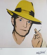 ANDY WARHOL Truman Capote Typ B SIGNED HAND NUMBERED 1364/2400  LITHOGRAPH