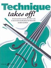 Tecnica Takes Off (solo Viola) (Faber Edizione) di Libro Tascabile 978057