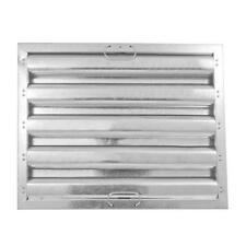 Exhaust Hood Grease Filter Baffle20x16 Galvanized 31106