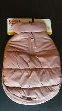 Dog Cat Pet Apparel Puffer Jacket Size Small Pink Solid Boots & Barkley New