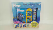 Disney Pixar Finding Dory Read Look and Play 3 Book Set Sound & Stickers 18+ Mo.
