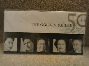 GB 2002 Queens Golden Jubilee Presentation Pack Royal Mint Stamps
