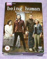 DVD Being Human - Series 1-3 - Complete (DVD, 2011, 3-Disc Set, Box Set)