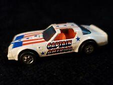 "1977 Vintage HOT WHEELS Diecast Toy Car ""Hot Bird"" Captain America Trans Am"