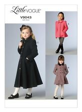 Vogue Patterns 9043 CDD Sizes 2 - 3 - 4 - 5 Children's/ Girls Jacket and Coat