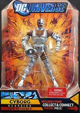 "2008 MATTEL DC CLASSICS SERIES 4 CYBORG WITH SONIC ARM 6"" ACTION FIGURE MOC"