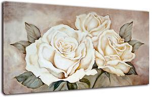 Quadro Moderno Rose Vintage Arredamento Arte Arredo Casa Stampa su tela Shabby