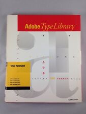 Adobe Type Library VAG Rounded Vintage Font Software 1990 for Macintosh PS