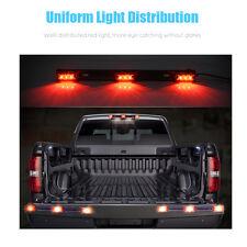 12V Red Bright Led ID Bar 3Led Marker Light Truck RV Trailer Bus Clearance Light