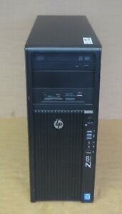 HP WorkStation Z420 Tower 4C E5-1620 3.6GHz 16GB Ram 2TB HDD Win10 Pro PC