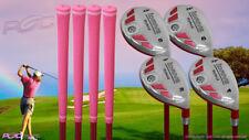 Petite Senior Women's iDrive Golf Clubs Pink Hybrid (3-6) Set Senior Flex