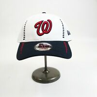 New Era 9forty Snapback cap 100%authentic mlb white Washington Nationals