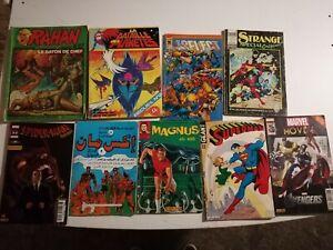 Lot Bd Comics