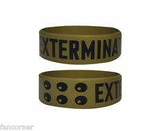 Bracelet Dr WHO officiel pvc Dr Who Exterminate official rubber wristband