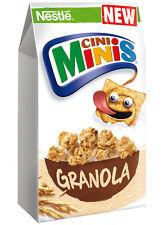 Nestle Cini Minis Granola - Crispy Cinnamon Bites - Breakfast Cereal 300g 10.6oz