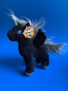 Neopets Shadow Uni unicorn Plush WITH TAGS
