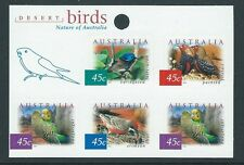 AUSTRALIA 2001 DESERT BIRDS SHEETLET OF 5 UNMOUNTED MINT