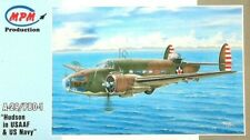 """MPM Production 1:72  A-29/PBO-1 """"Hudson In USAAF & US Navy"""" Aircraft Model Kit"""