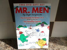 MR MEN TWO DVD GIFT SET COMPLETE SERIES 1 & 2 + CHRISTMAS SPECIAL FREE POST
