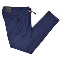 NEW MARCO PESCAROLO DRESS PANT FOR MEN'S 100% WOOL 32 US 48 EU PJUS2175