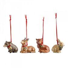 VILLEROY E BOCH NOSTALGIC ornamenti in legno Animali Albero di Natale Decorazioni