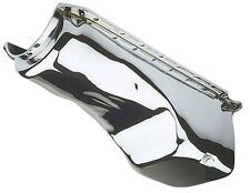 Engine Oil Pan-Chrome Oil Pan- 1960-90 Chevy 396-454 4 Qt. Capacity