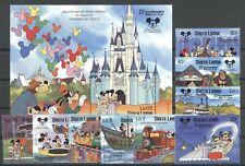 Walt Disney, Tokyo, Eisenbahn - Sierra Leone - ** MNH