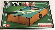 Tavolo da biliardo da tavolo gioco i giocatori Giocattolo Gioco Famiglia Bambini Set Gioco Regalo di Natale