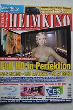 Home cinéma 3/09, MARANTZ SR 6003, canton 490 Série, ELAC Starlet 5.1, Sony VPL HW 10,