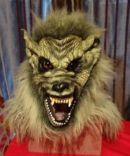 WereWolf Scary Rubber Latex Full Face Mask & Head Fancy Dress Horror Mask