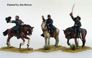 Perry Miniatures ACW3 AMERICAN CIVIL WAR Union Generals Mounted