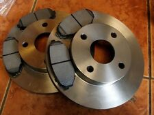 Front brake discs & pads set Mazda MX5 mk1 1.6 Eunos, MX-5, NA, 235mm vented