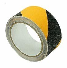 AntiRutsch Klebeband Anti Slip gelb schwarz gestreift 5 m x 50 mm Abstand halten