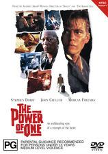 Stephen Dorff Morgan Freeman John Gielgud THE POWER OF ONE DVD (NEW & SEALED)