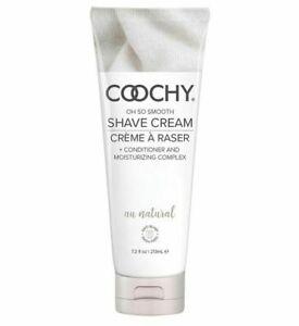 Coochy Cream Au Natural - 7.2oz Shave Cream